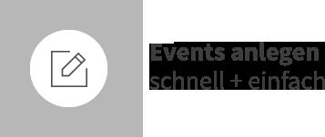 Events anlegen schnell + einfach